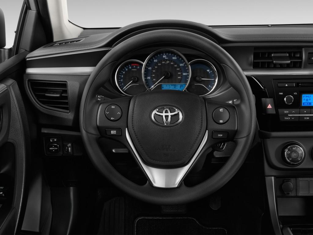 image 2014 toyota corolla 4 door sedan auto l natl steering wheel size 1024 x 768 type. Black Bedroom Furniture Sets. Home Design Ideas