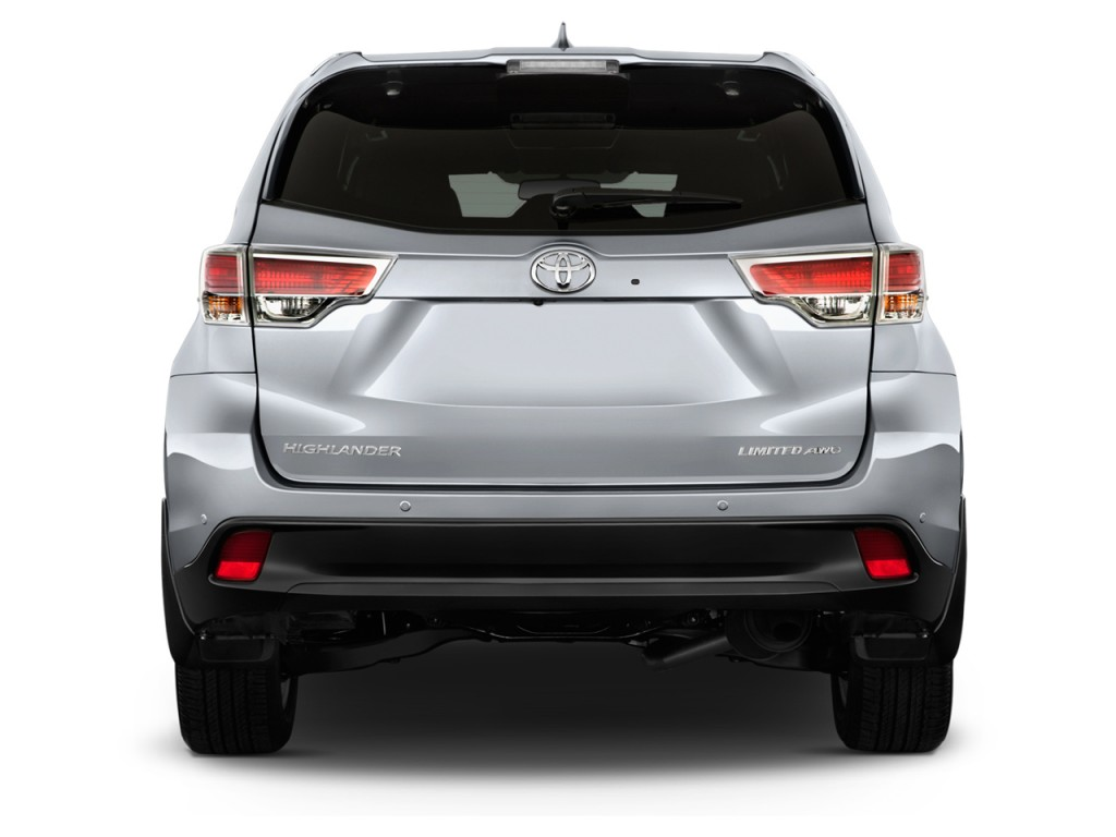 Image 2014 Toyota Highlander Fwd 4 Door V6 Limited Natl Rear Exterior View Size 1024 X 768