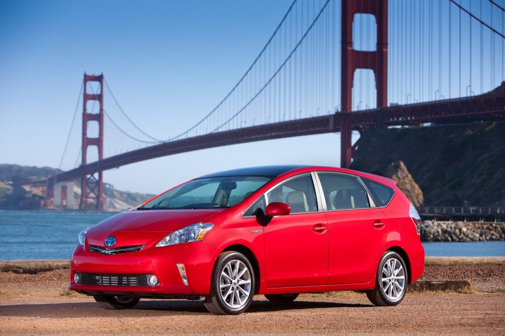 2012 - 2014 Toyota Prius V Recalled To Fix Software Glitch That Could Cause Stalling