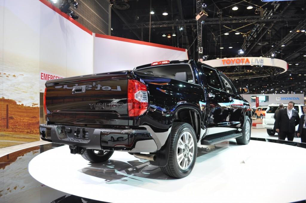 2014 Toyota Tundra Live Shots
