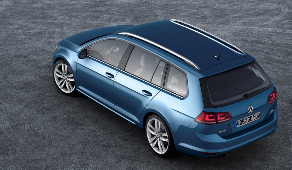 2015 Volkswagen Jetta SportWagen Previewed By VW Golf Variant