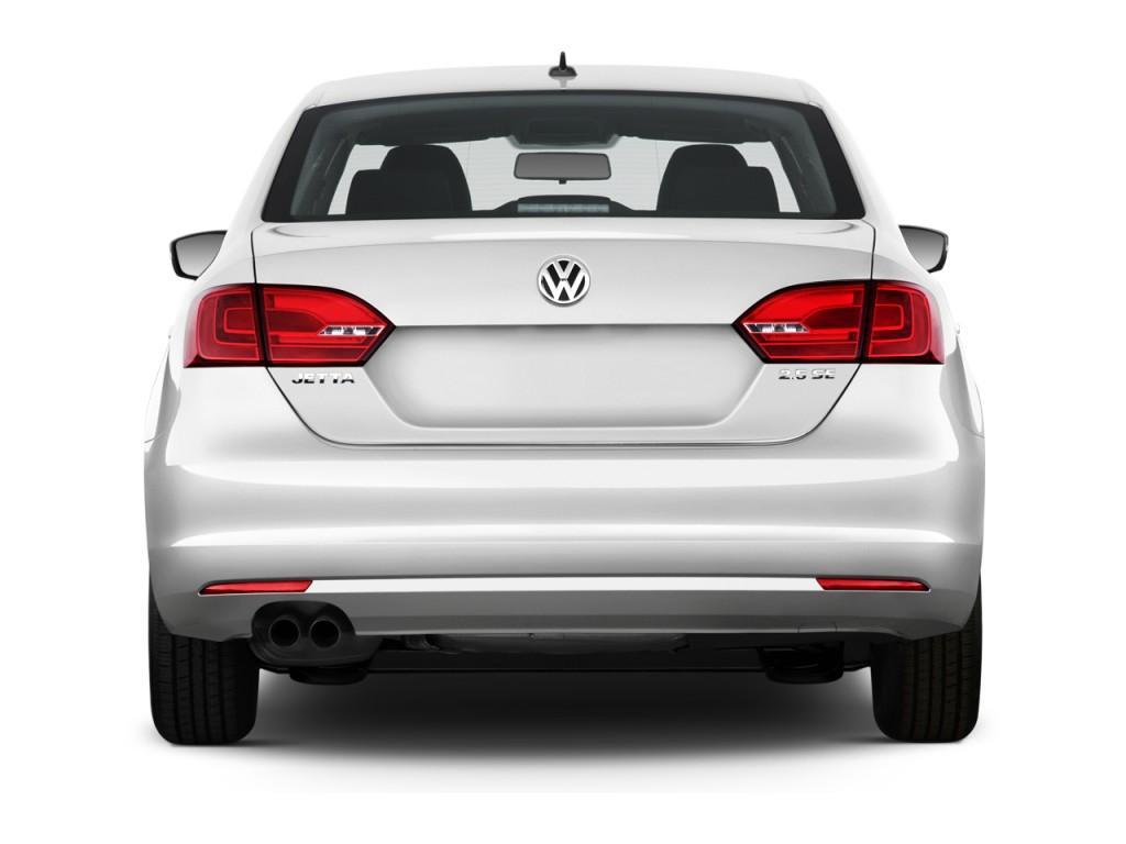 Image 2014 Volkswagen Jetta Sedan 4 Door Auto Se Rear