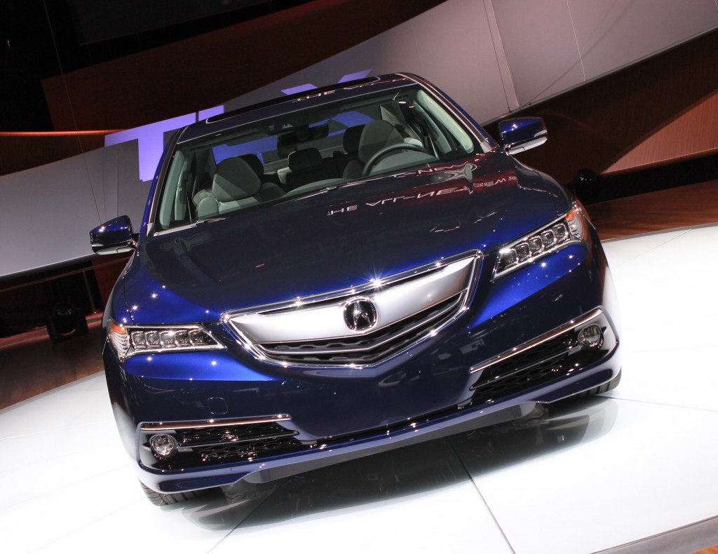 image 2015 acura tlx 2014 new york auto show size 1024. Black Bedroom Furniture Sets. Home Design Ideas