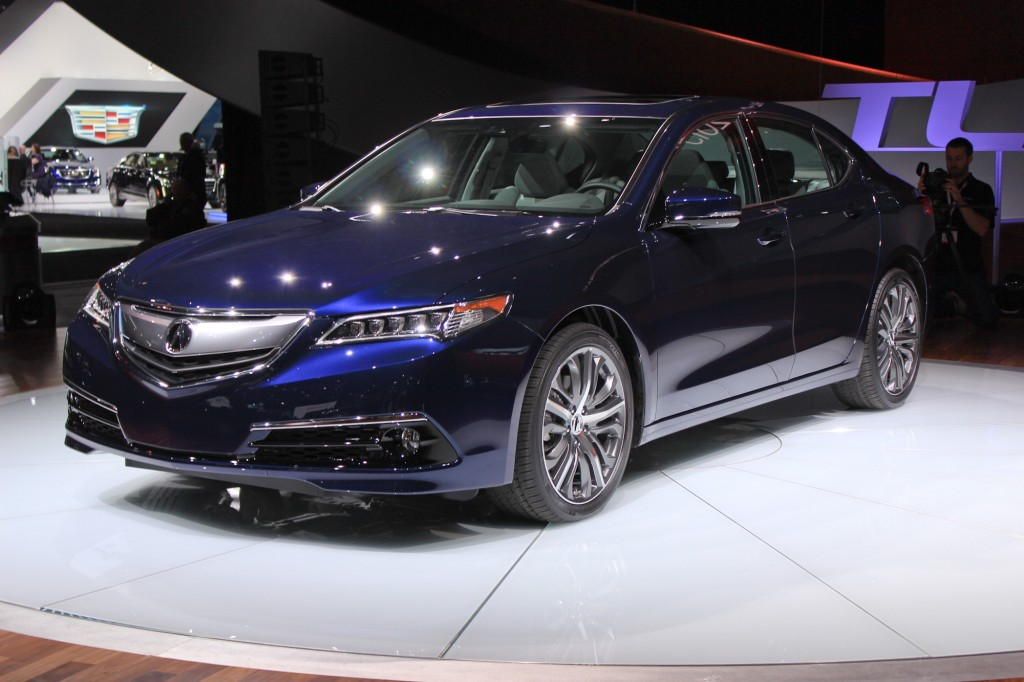 Image: 2015 Acura TLX, 2014 New York Auto Show, size: 1024 x 682, type: gif, posted on: April 16 ...
