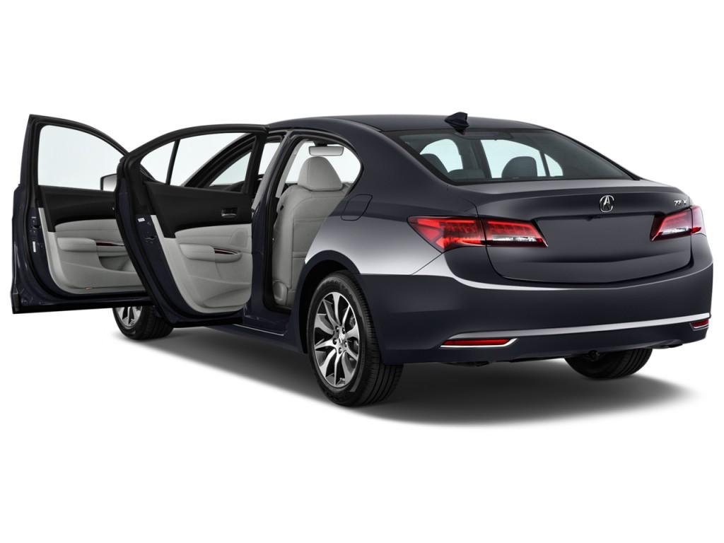 image 2015 acura tlx 4 door sedan fwd tech open doors. Black Bedroom Furniture Sets. Home Design Ideas