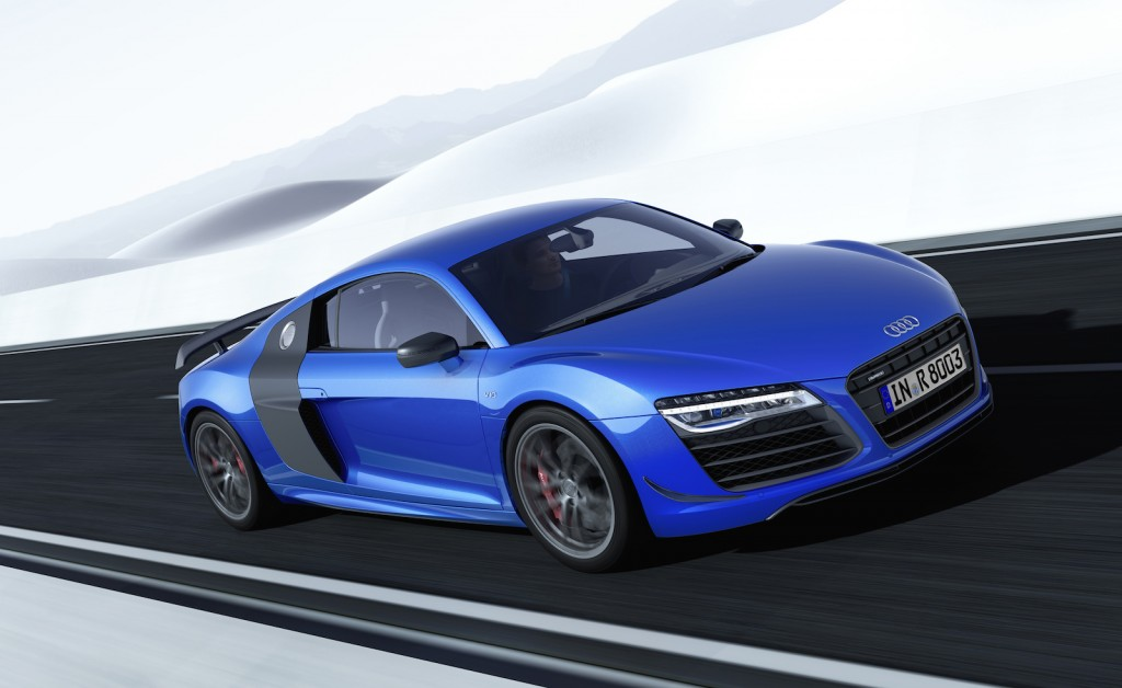 Audi Says It's First With Laser Headlights on R8 LMX