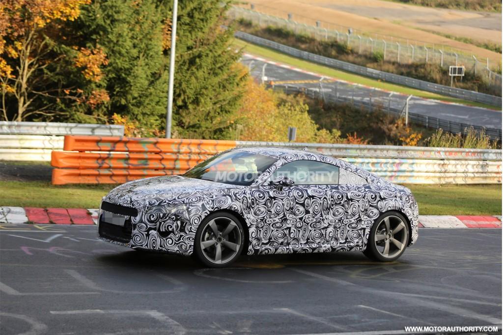 2015 Audi TT spy shots