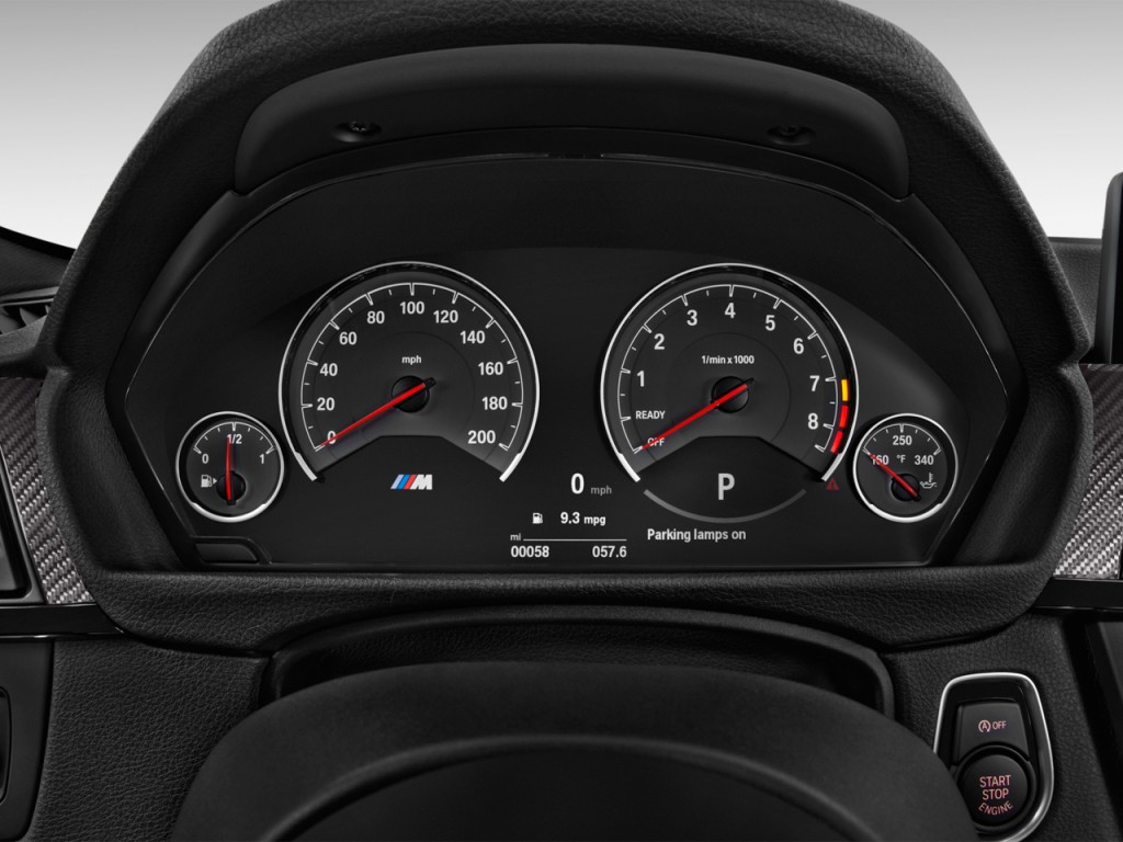 Image 2015 Bmw M3 4 Door Sedan Instrument Cluster Size 1024 X 768 Type Gif Posted On