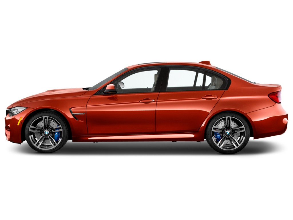 Image 2015 Bmw M3 4 Door Sedan Side Exterior View Size