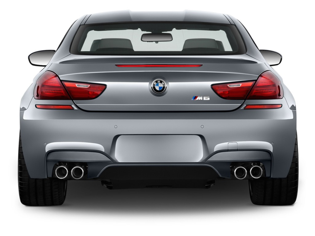 Image 2015 Bmw M6 2 Door Coupe Rear Exterior View Size
