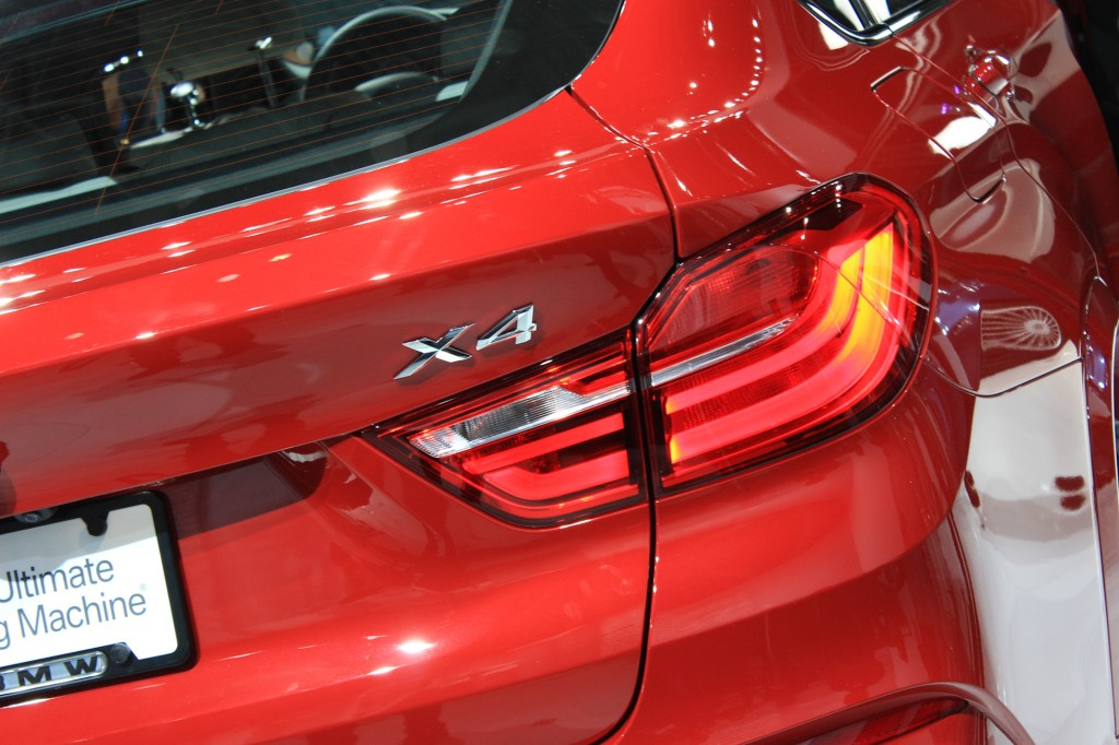2015 BMW X4, 2014 New York Auto Show