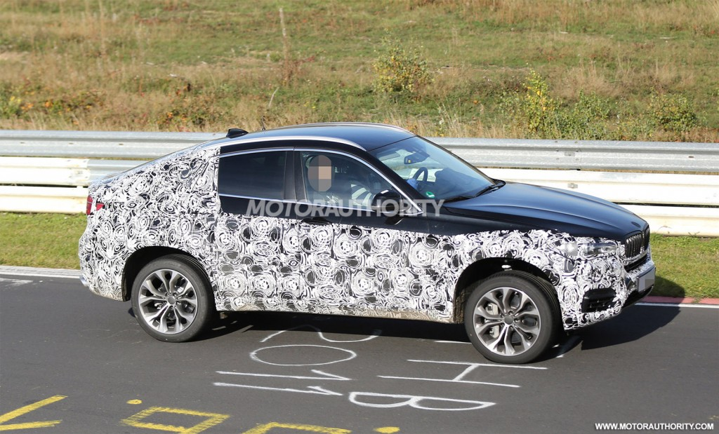 2015 BMW X6 spy shots