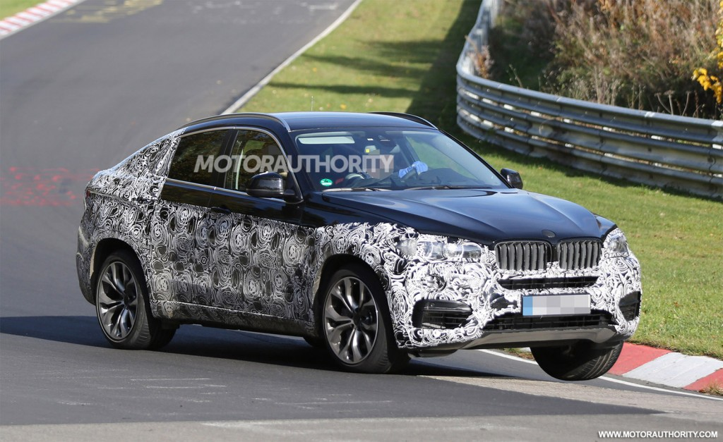 2015 BMW X6 spy shots