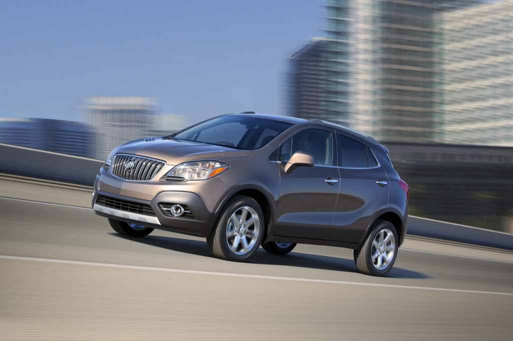 2015 Buick Encore, Chevrolet Trax Earn Top Safety Ratings
