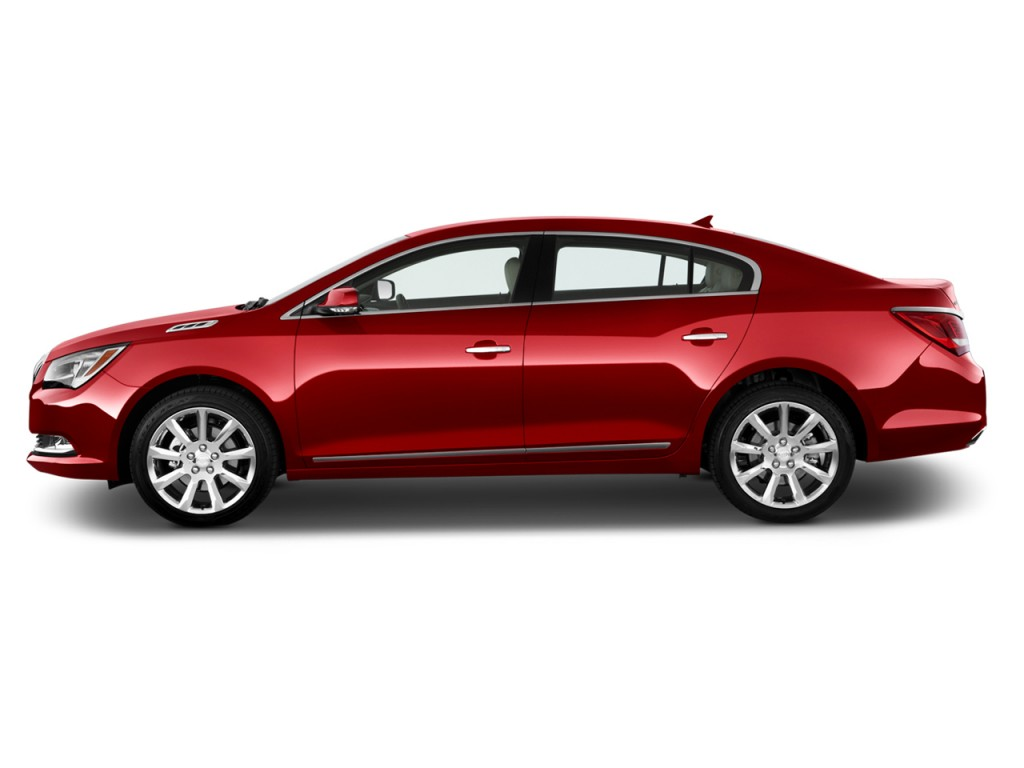Image: 2015 Buick Lacrosse 4-door Sedan Base FWD Side ...
