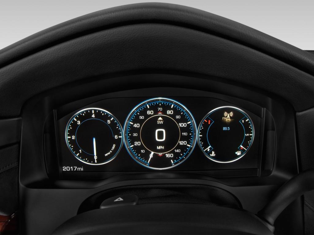 Image: 2015 Cadillac Escalade 4WD 4-door Luxury Instrument ...