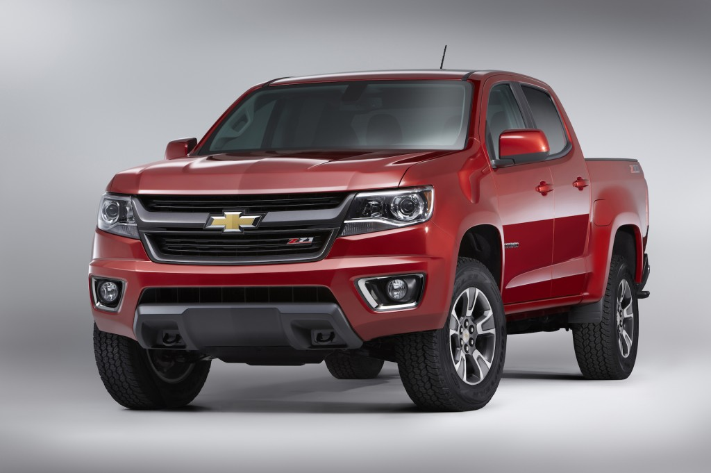 2015 Chevy Colorado: LA Auto Show Video