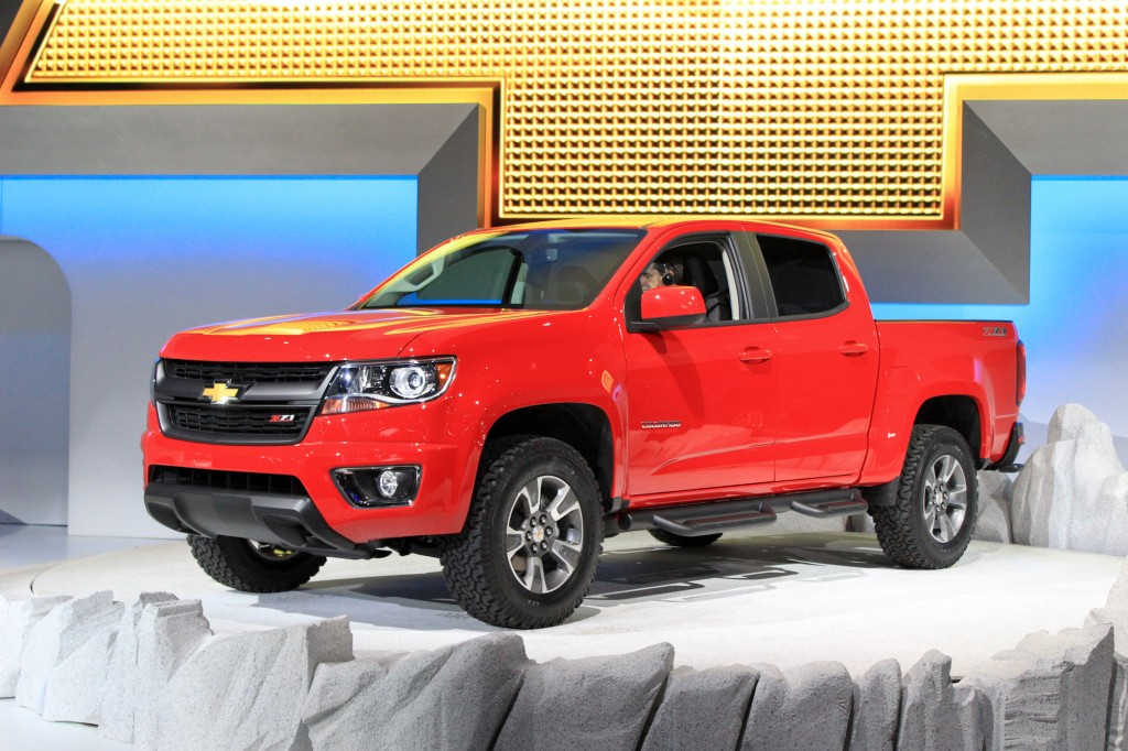 2015 Chevrolet Colorado, 2013 Los Angeles Auto Show