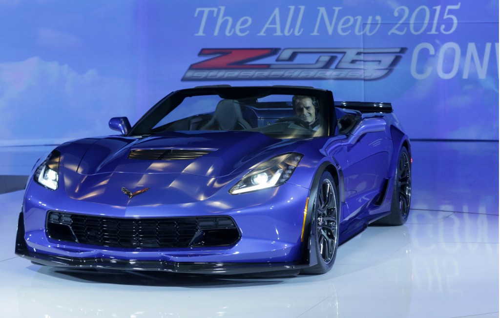 Image: 2015 Chevrolet Corvette Z06 Convertible, 2014 New ...