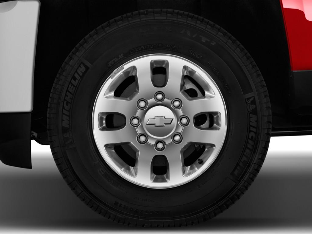 Image: 2015 Chevrolet Silverado 2500HD 2WD Crew Cab 153.7 ...