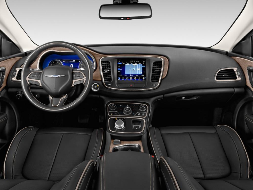 Image 2015 Chrysler 200 4 Door Sedan C Fwd Dashboard Size 1024 X 768 Type Gif Posted On