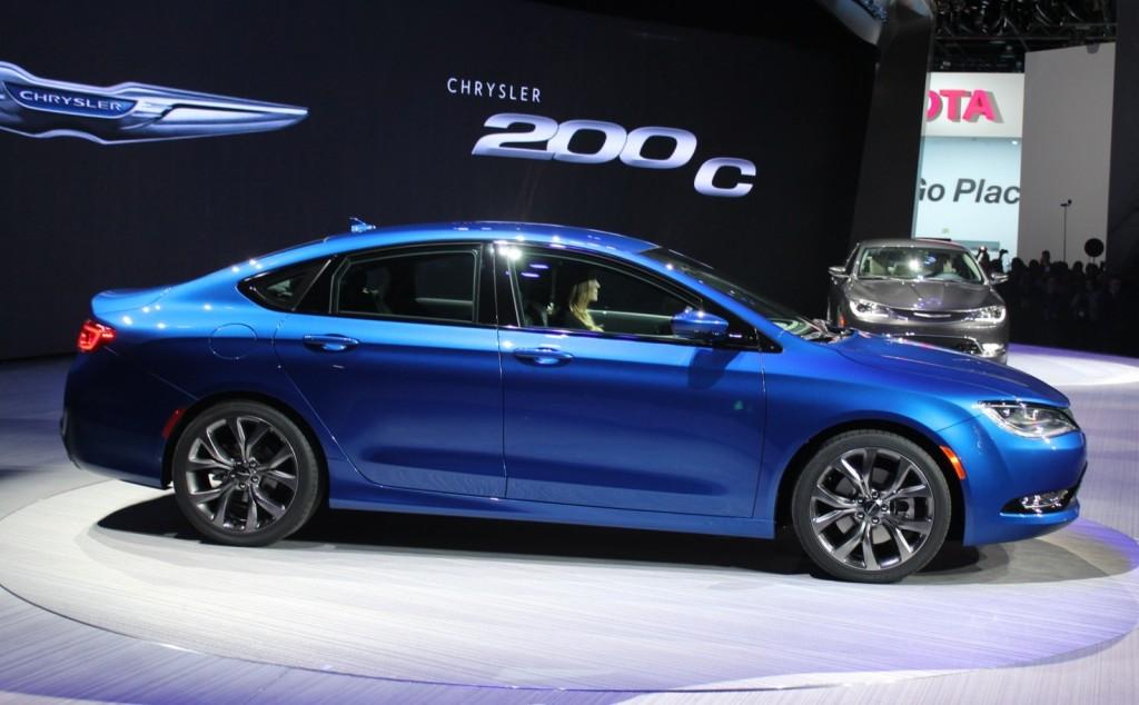 Image 2015 Chrysler 200  2014 Detroit Auto Show size 1024 x