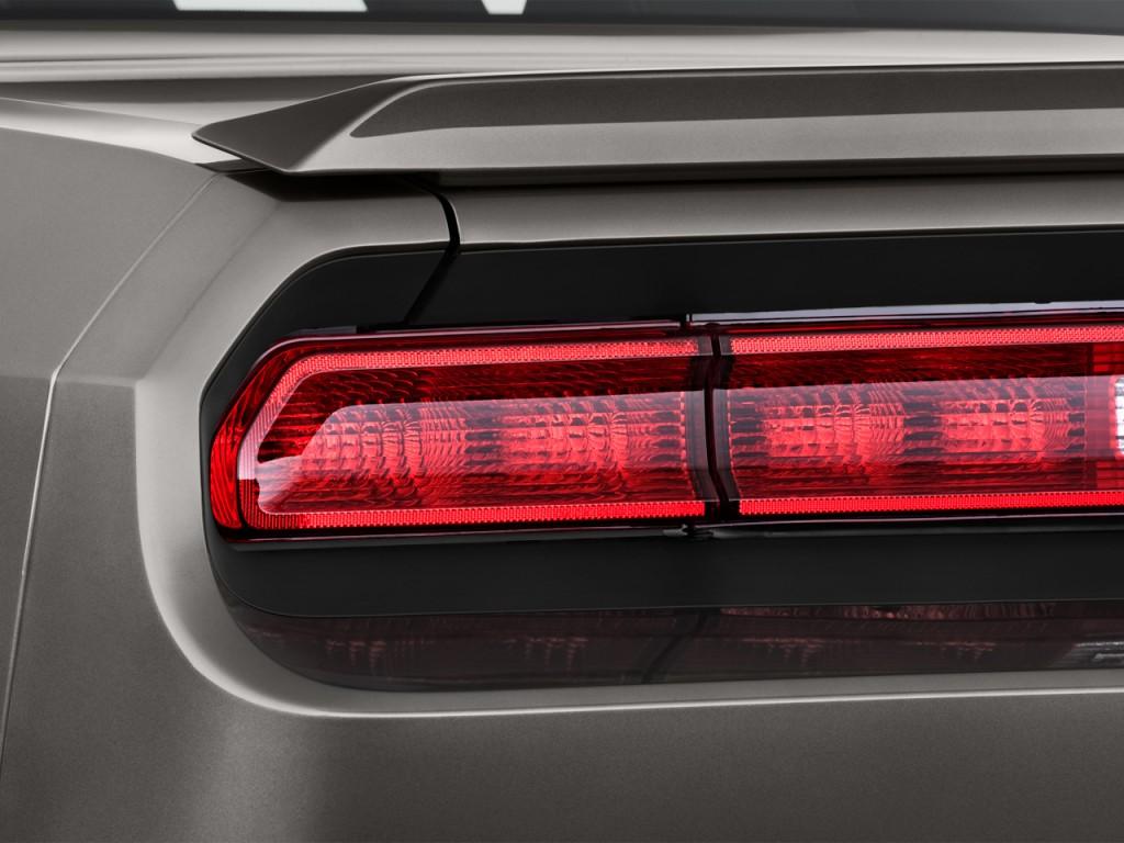 Image 2015 Dodge Challenger 2 Door Coupe R T Plus Tail