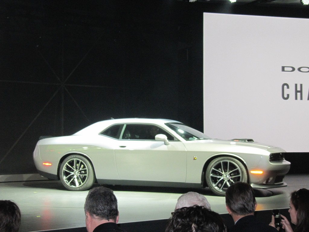 2015 Dodge Challenger at 2014 New York Auto Show
