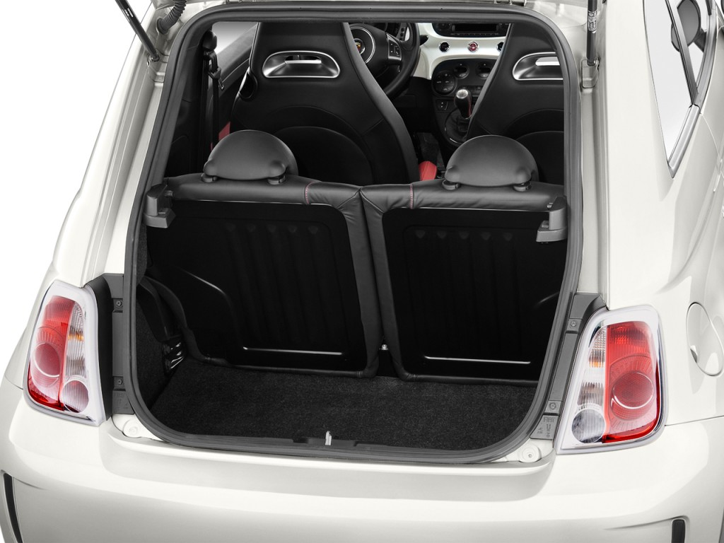 Fiat 500 Abarth Trunk Image: 2015 FIA...