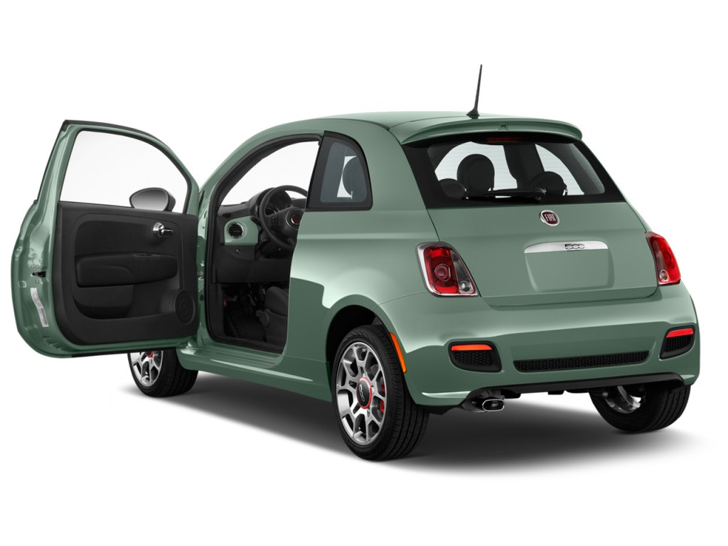 image 2015 fiat 500 2 door hb sport open doors size. Black Bedroom Furniture Sets. Home Design Ideas
