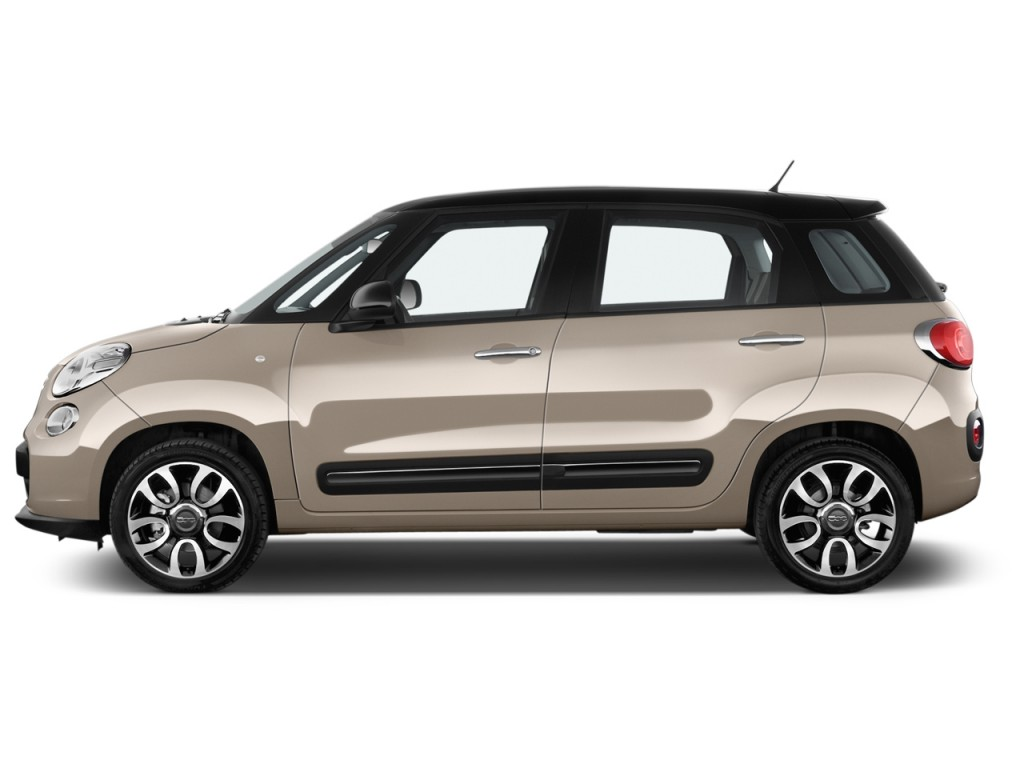 image 2015 fiat 500l 5dr hb lounge side exterior view size 1024 x 768 type gif posted on. Black Bedroom Furniture Sets. Home Design Ideas