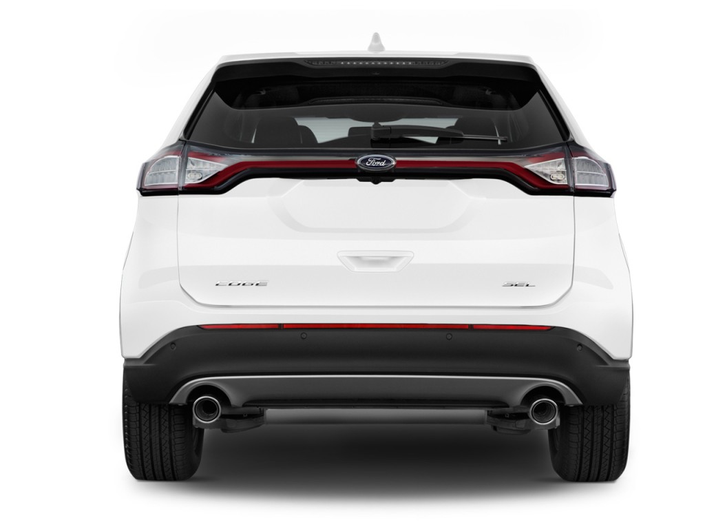 Image 2015 Ford Edge 4 Door Sel Fwd Rear Exterior View