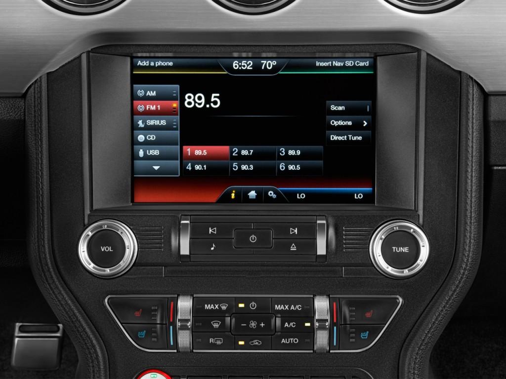 Image 2015 Ford Mustang 2 Door Fastback Gt Premium Audio