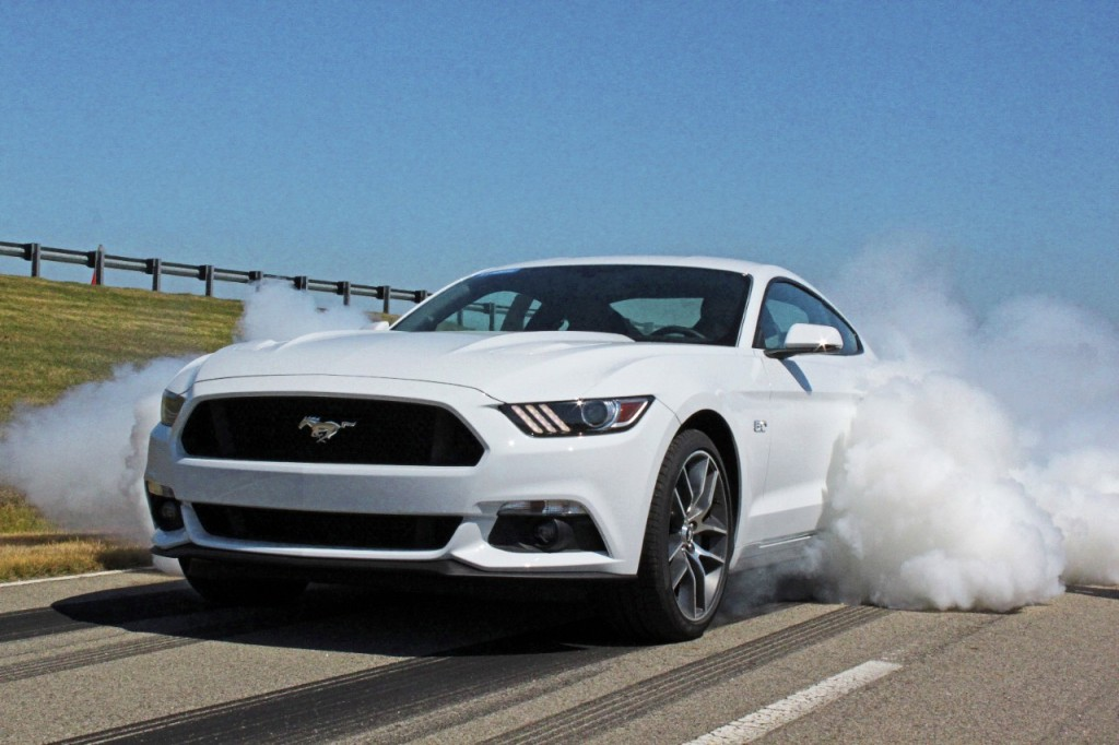 2015 Ford Mustang electronic line lock