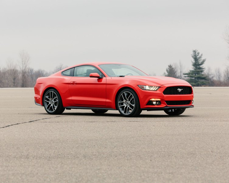 2015 Ford Mustang images leaked by TIME