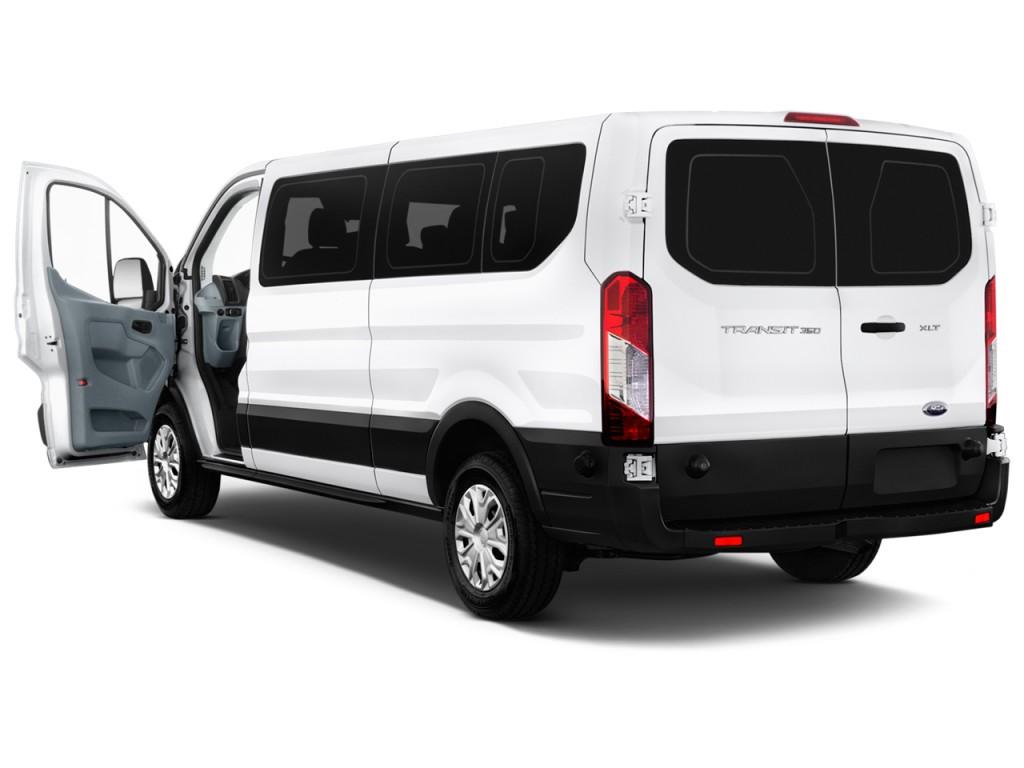 image 2015 ford transit wagon t 350 148 med roof xlt sliding rh dr open doors size 1024 x. Black Bedroom Furniture Sets. Home Design Ideas