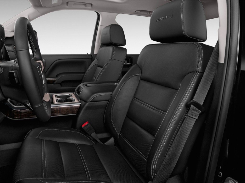 image 2015 gmc sierra 2500hd 2wd crew cab 153 7 denali front seats size 1024 x 768 type. Black Bedroom Furniture Sets. Home Design Ideas