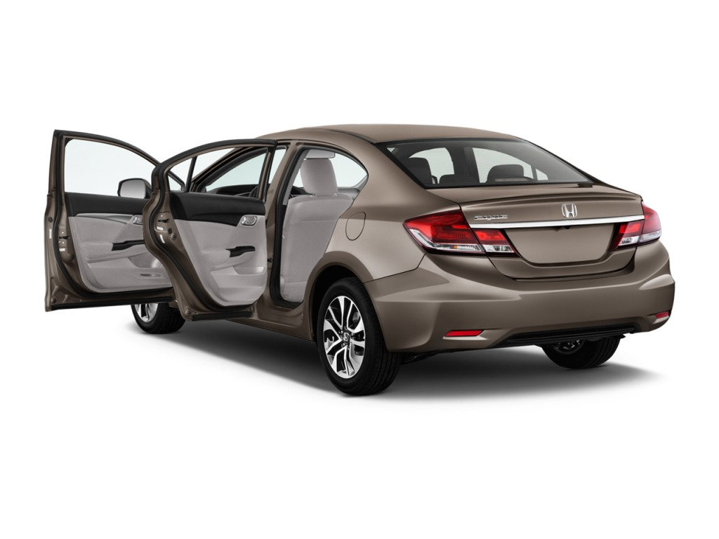 Used Honda Crosstour >> Image: 2015 Honda Civic 4-door CVT EX-L Open Doors, size: 1024 x 768, type: gif, posted on ...