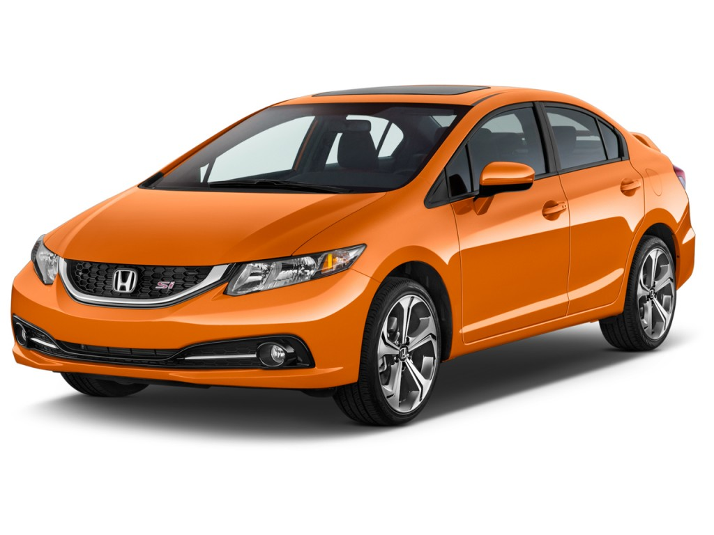 Image 2015 Honda Civic 4 Door Man Si Angular Front
