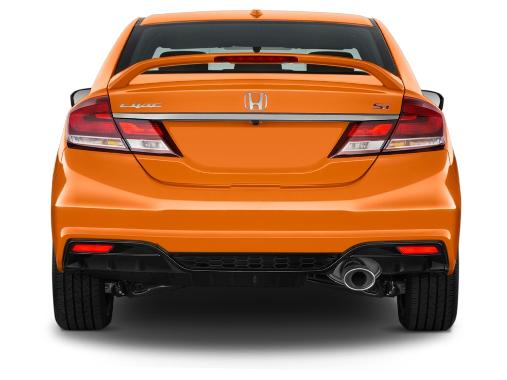 image 2015 honda civic 4 door man si rear exterior view size 1024 x 768 type gif posted on. Black Bedroom Furniture Sets. Home Design Ideas