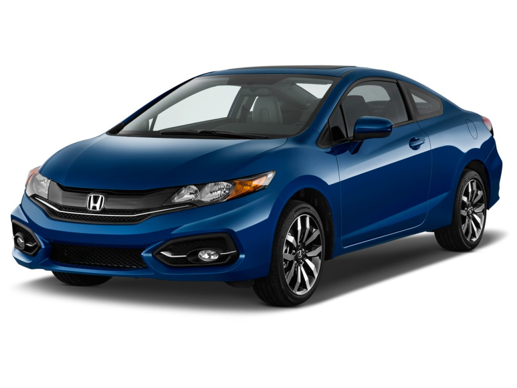 Image 2015 Honda Civic Coupe 2 Door Cvt Ex L Angular