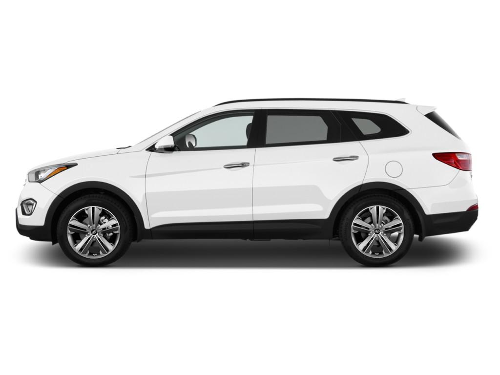 Image 2015 Hyundai Santa Fe Fwd 4 Door Gls Side Exterior