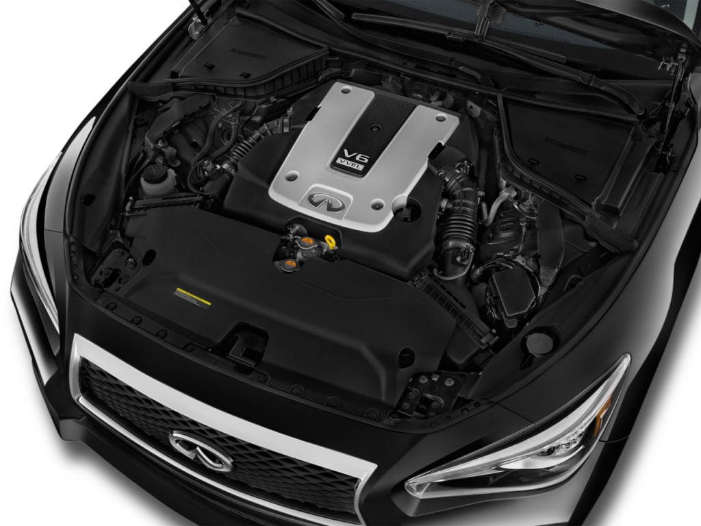 Image: 2015 Infiniti Q50 4-door Sedan Sport RWD Engine ...