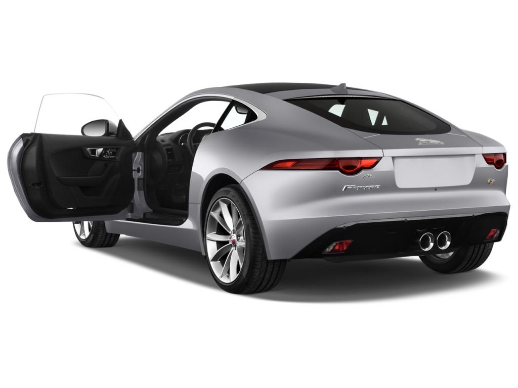 image 2015 jaguar f type 2 door coupe v6 s open doors. Black Bedroom Furniture Sets. Home Design Ideas