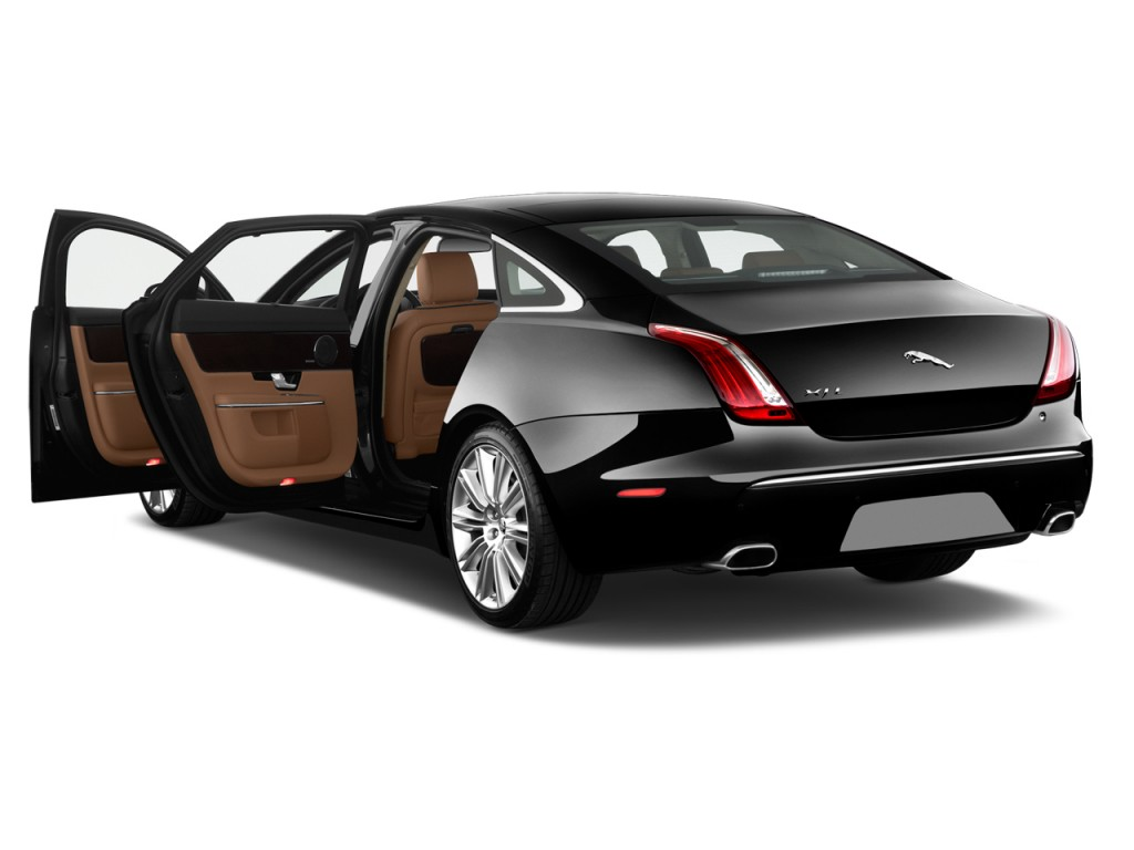 Image: 2015 Jaguar XJ 4-door Sedan XJL Supercharged RWD ...