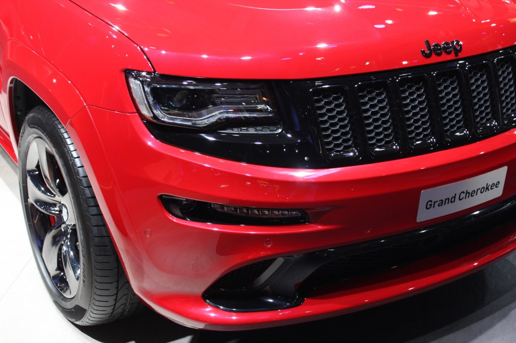 Image 2015 jeep grand cherokee srt red vapor limited for A123 service honda civic