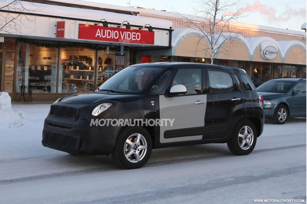 2015 Jeep Jeepster test mule spy shots