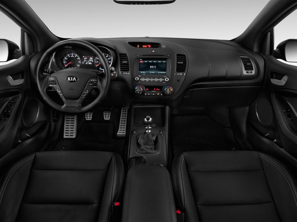 2015 kia forte 2 door coupe auto sx dashboard
