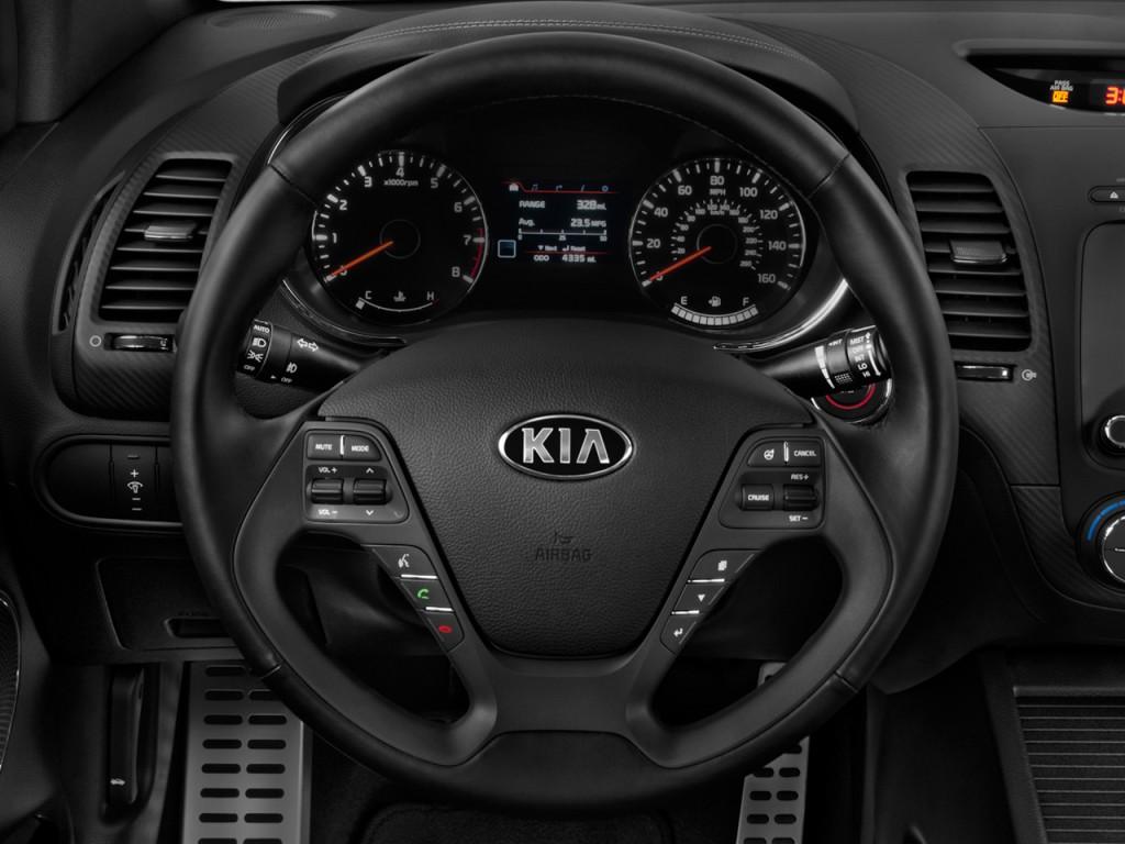 2015 kia forte 2 door coupe auto sx steering wheel