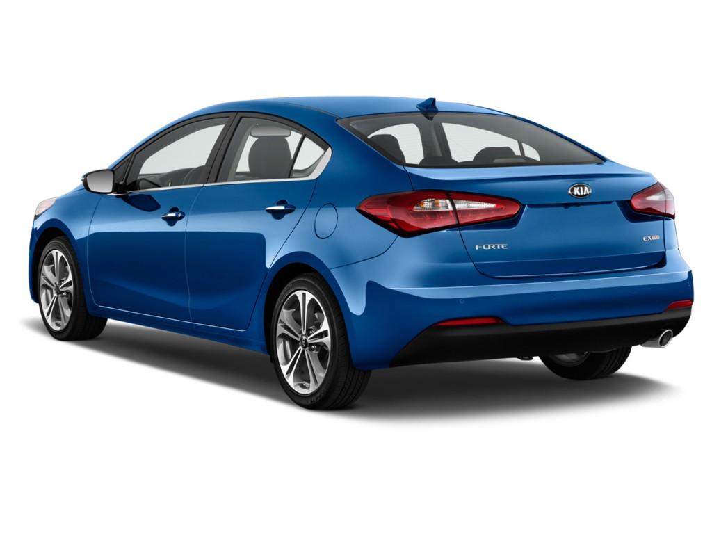 2015 kia forte 4 door sedan auto ex angular rear exterior view